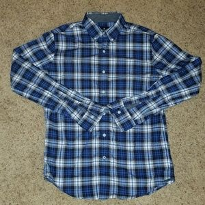American Eagle Plaid button up Size Small